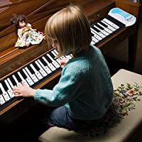 透明ピアノステッカー耐久性のある高信頼性優れた効果のピアノステッカー電子ピアノの初心者(color)