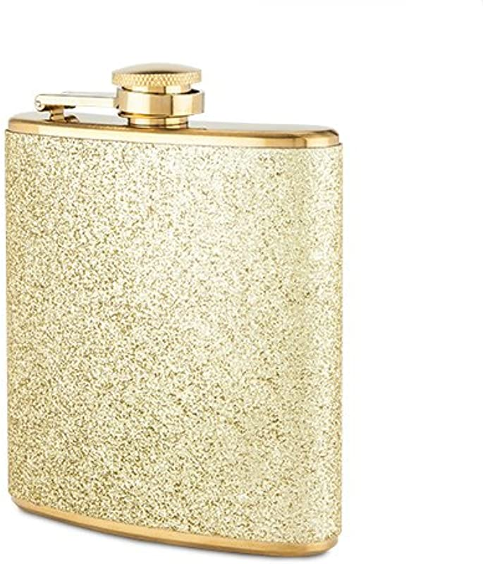 Blush 2088 Sparkletini Stainless Steel Flask Gold
