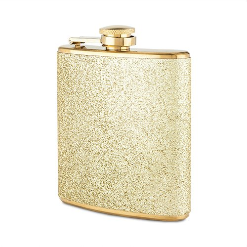 Sparkletini Stainless Steel Flask Blush