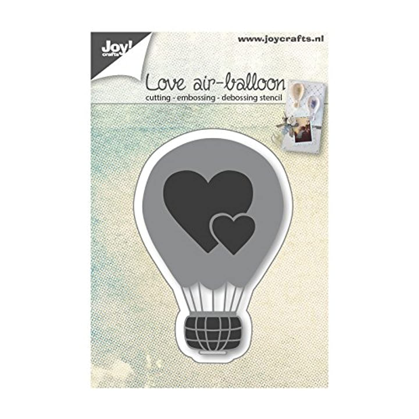 Joy Crafts -Cut & Emboss/Deboss Die - Love Air Balloon