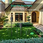 Nekteck Outdoor Torch Light with Star Design, Flickering Dancing Flames, Waterproof Solar Powered LED Landscape Decoration for Yard Pool Patio Garden Pathway Walkway 4 Pack Easy to Assemble