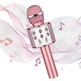 WIMO Karaoke Microphone – Mic Speaker for Singing – Wireless Karaoke Mic - Bluetooth Music...