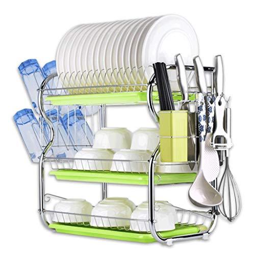 Qiutianchen Küchengestelle, Schränke, Besteck, Geschirrständer, Lagerregal Küchelregal (Color : C)