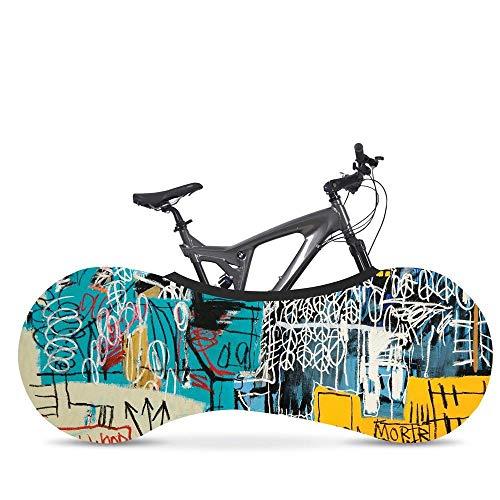 Funda Bicicleta Resistente para Interiores- Cubierta para Mantener Suelos y Paredes Libres...