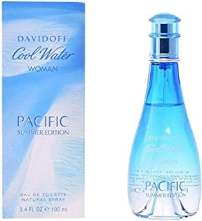 DAVIDOFF Cool Water Woman Pacific Summer Edition EDT Spray, 100 ml