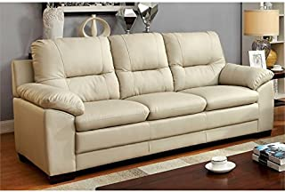 Pleasing Amazon Com Tufted Leather Sofas Couches Living Room Download Free Architecture Designs Scobabritishbridgeorg
