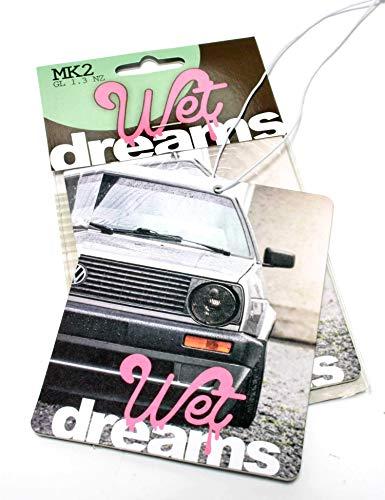 Wet Dreams MK 2 Auto Duftbaum Lufterfrischer Air Freshener - Dub (Duft: Melone)