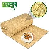Nagerteppich aus 100% Hanf auf Rolle mit 5m Länge, 40cm Breite, 10mm dick (13,95 Euro / m2) Hanfteppich für alle Arten Kleintiere, Hanfmatte Nagermatte Nager-Teppich