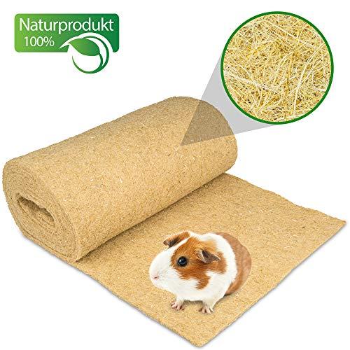 Nagerteppich aus 100% Hanf auf Rolle mit 10m Länge, 40cm Breite, 5mm dick (8,73 Euro / m2) Hanfmatte Hanfteppich