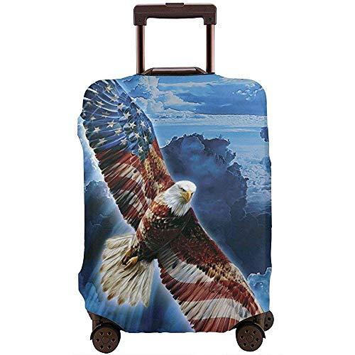 American Eagle Sky Travel Funda para Equipaje Funda Protectora Maleta elástica Funda para Equipaje M
