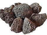 Der Naturstein Garten 5 kg Lava Saunasteine 4-8 cm - Sauna Steine Aufgusssteine - Lieferung KOSTENLOS