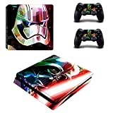 Star Wars Ps4 Slim Stickers Play Station 4 Skin Sticker Decals For Playstation 4 Ps4 Slim Console And Controller Skins Vinyl