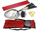 Badminton Kit complet Bandito pour 4 joueurs, complet avec filet
