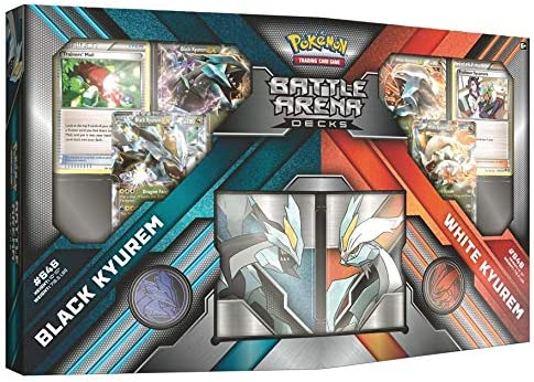 The Pokemon TCG: Battle Arena depot Black Kyurem vs Decks White cheap