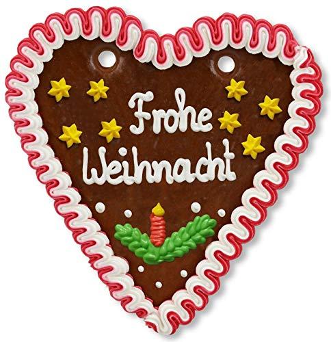 Lebkuchenherz, 18cm - Frohe Weihnacht