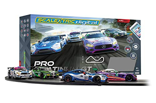 Scalextric App Race Control Pro Platinum GT 1:32 ARC Digital Slot Track Set
