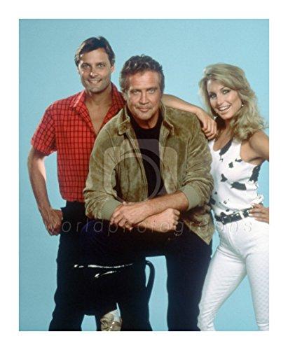 Doug Barr, Lee Majors and Heather Thomas (The Fall Guy)