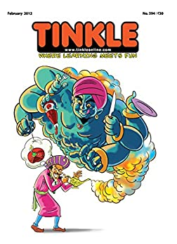 Tinkle Magazine No.594 by [Rajani Thindiath]