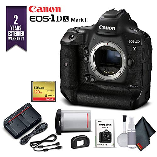 Canon EOS-1DX Mark II DSLR Camera (Body Only) with 2 Year Extended Warranty (International Model) - Starter Kit