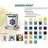 Ronseal RSLGPSL25L GPSL25L Garden Paint Slate 2.5 Litre