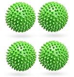 4 StückeTrockner Ball,Trocknerkugeln Duft,Trocknerbälle für Wäschetrockner,Kugeln für Flauschigere Wäsche,Wiederverwendbare Dryer Balls,Wäsche Wäschetrockner Trocknen Ball