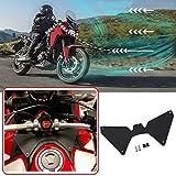 XX eCommerce Motocicleta Moto Protector de pantalla Deflector de flujo de aire Gelmet Visor Antivibraciones for 2016-2019 Honda CRF1000L Africa Twin