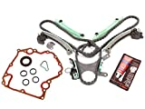 Evergreen TKTCS5047NG Compatible With 99-08 Dodge Jeep Mitsubishi 4.7 SOHC 16V VIN J, N, P Timing Chain Kit w/o Gears Timing Cover Gaskets
