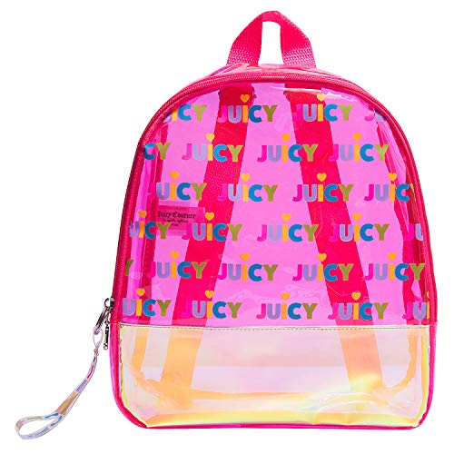 Juicy Couture Mini Backpacks For Girls - Bookbags for Women - Small Backpacks (Mini Backpack, Pink Juicy All Over)