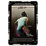 Footloose 1984 Music Sign Vintage Cafe Decorative Film Poster Tin Sign Wall Decor for Movie Theater/Man Cave/Farmhouse - Best Bar Decor Gifts for Women - 8x12 Inch