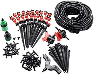 108pcs 20m Small Size Garden Lawn Outdoors Irrigation Plastic Sprayer Nozzles Suits Spray Cooling Atomization Sprinkler