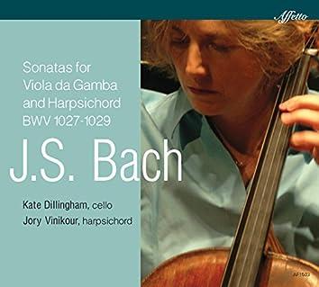 J.S. Bach: Sonatas for Viola da gamba & Harpsichord, BWV 1027-1029