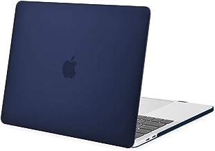 MOSISO Funda Dura Compatible con 2019 2018 2017 2016 MacBook Pro 13 con/sin Touch Bar A2159 A1989 A1706 A1708, Ultra Delgado Carcasa Rígida Protector de Plástico Cubierta, Azul Marino