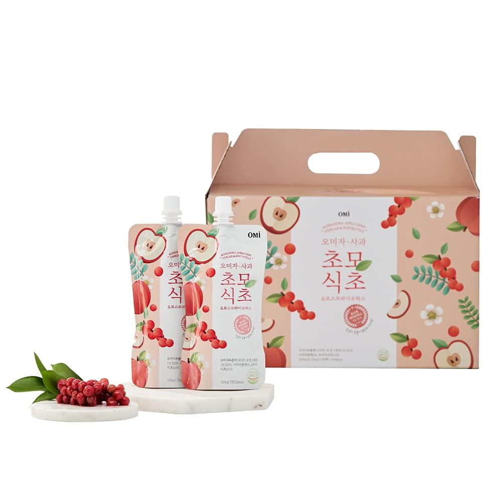 Korean Portland Mall Easy Care Healthy Omija Cide Beauty products Postbiotics Apple Schisandra