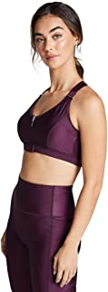 Rockwear Activewear Women's Very Berry Mi Zip Sports Bra From size 4-18 Medium Impact Bras For