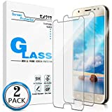 KATIN Galaxy J3 2017 Screen Protector - [2-Pack] for Samsung Galaxy J3 Emerge/ J3 Prime/ J3 Eclipse/ J3 Mission/ J3 Luna Pro Tempered Glass No-Bubble, 9H Hardness, Easy to Install