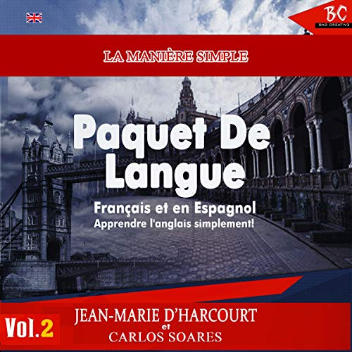 Couverture de La Manière Simple Paquet De Langue Vol. 2