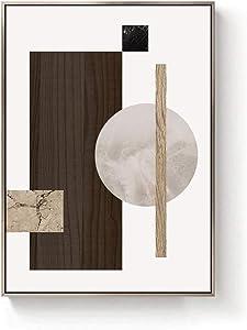 WYKDL Visual Art Decor Retro Wood Background Vintage World Map Canvas Prints Home Wall Decoration World Map Wall Art Decor