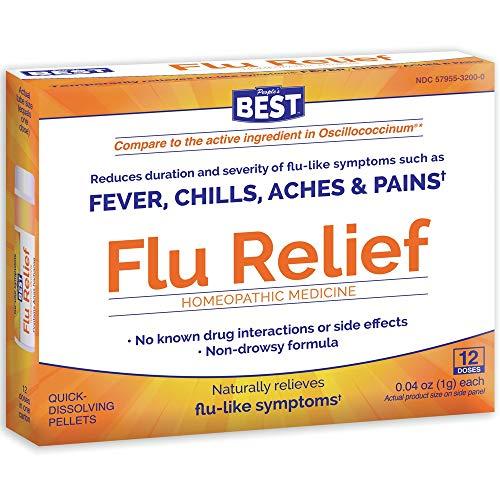 Peoples Best Flu Relief Dr King Natural Medicine 12 Doses Pellet