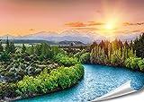"PMP 4life. XXL Poster ""Fluss in Neuseeland""| 140x100cm"