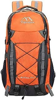 SP-Xhz Hiking Backpack Lightweight Hiking Backpack Waterproof Shoulder Bag Travel Outdoor Travel Bag (Color : Yellow)