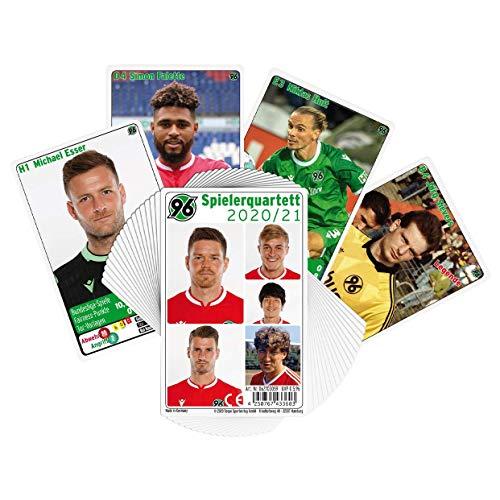 H96 Hannover 96 Quartett Karten 2020/21