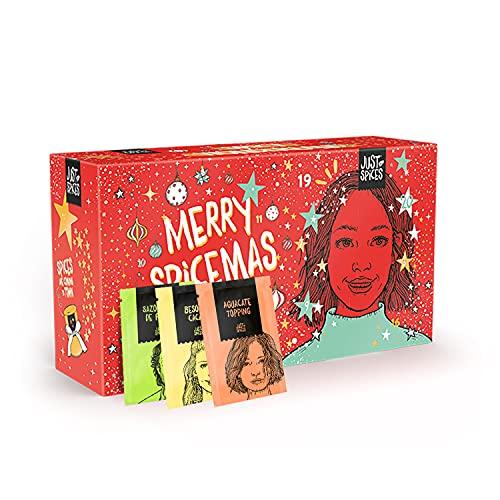 Calendario de Adviento Just Spices pequeño 2021 I Calendario de Navidad con 24...