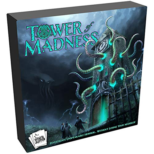 Smirk and Dagger SMD00062 - Tower of Madness - Brettspiel - englisch