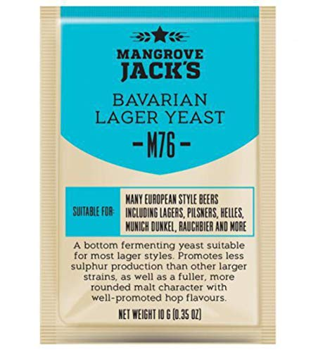 Mangrove JACK 'S ATTIVITÀ SERIE LIEVITO M76 bavarese LAGER (10g)