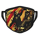 Sons of Anarchy Mask Comfortable Mouth Cover Reuseable Washable Bandana Dustproof Face Mask 3D Printed Decorations for Women Men Cycling Camping Travel Black