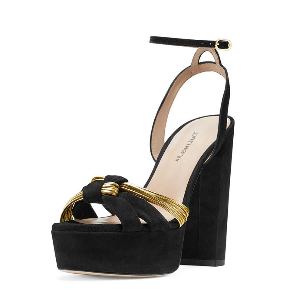 Sandals Platform Straps Stiletto Heel