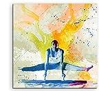 Turnen VI 60x60cm Wandbild SPORTBILD Aquarell Art tolle