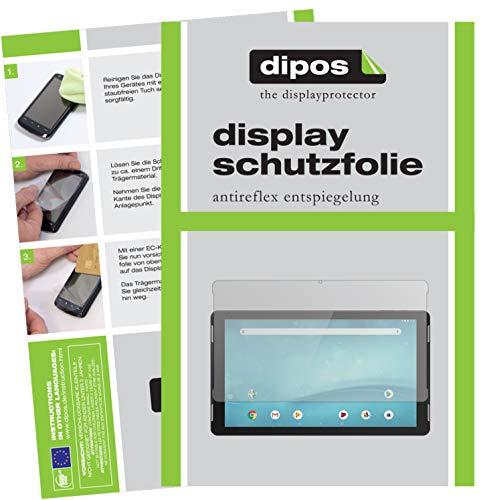 dipos I 2X Schutzfolie matt kompatibel mit TrekStor SurfTab Theatre 13.3 Folie Bildschirmschutzfolie