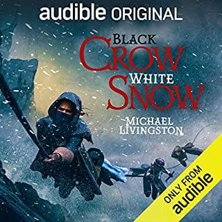 Black Crow, White Snow audiobook cover art