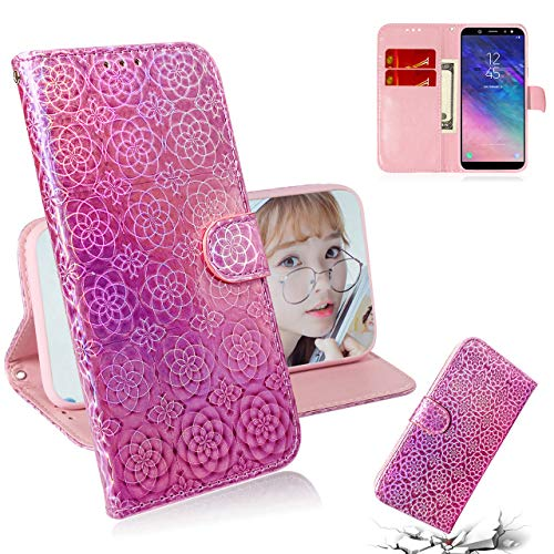 HICYCT Cover iPhone Xir(2019 6.1 inch),Custodia iPhone Xir[Anticaduta, Antigraffio] con Slot per Schede e Chiusura Magnetica Compatibile Per iPhone XIR(2019 6.1 inch) - Rosa